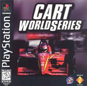 Cover for CART World Series.