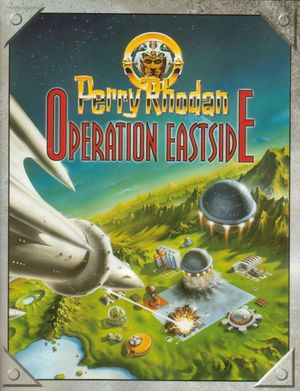 Cover for Perry Rhodan: Operation Eastside.