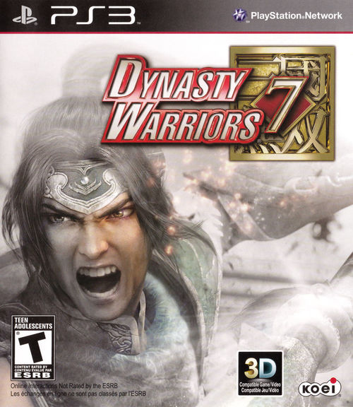 Cover for Dynasty Warriors 7.