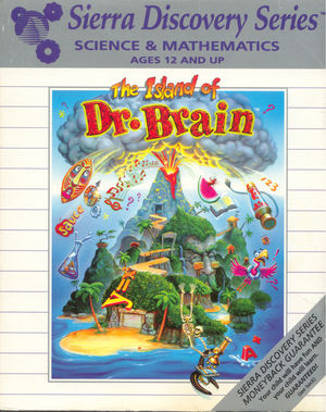 Cover for The Island of Dr. Brain.
