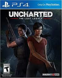 Cover for Uncharted: The Lost Legacy.