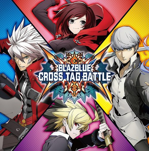 Cover for BlazBlue: Cross Tag Battle.