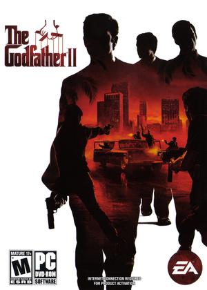 Cover for The Godfather II.