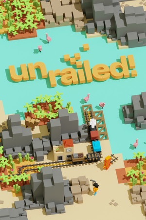 Cover for Unrailed!.