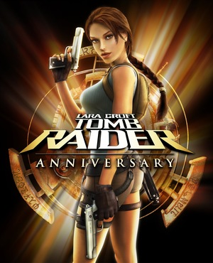 Cover for Tomb Raider: Anniversary.