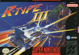 Cover for R-Type III: The Third Lightning.