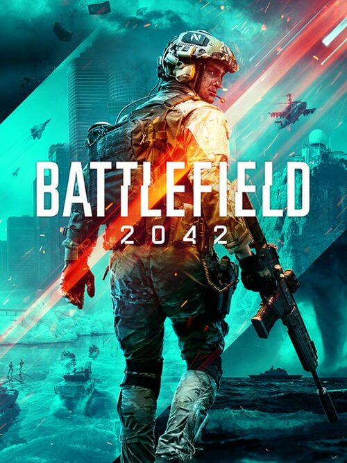 Cover for Battlefield 2042.