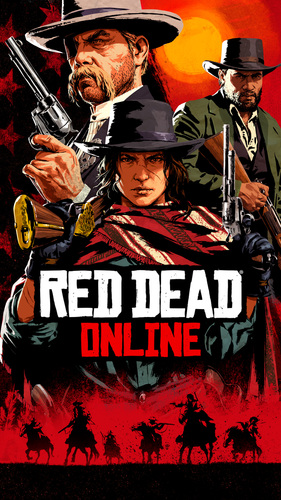 Cover for Red Dead Online.