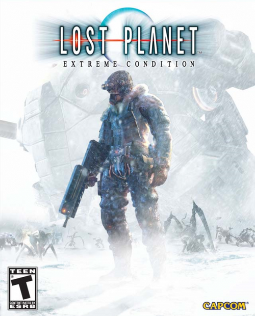 Cover for Lost Planet: Extreme Condition.