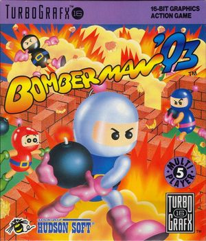 Cover for Bomberman '93.