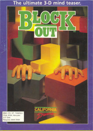 Cover for Blockout.