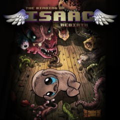 Cover for The Binding Of Isaac: Rebirth.