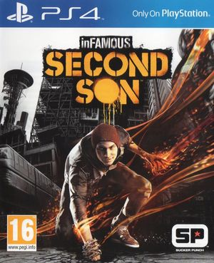 Cover for Infamous: Second Son.