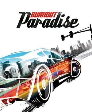 Cover for Burnout Paradise.