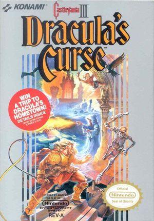 Cover for Castlevania III: Dracula's Curse.