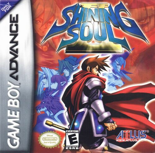 Cover for Shining Soul II.