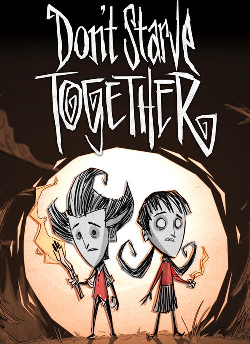 Cover for Don't Starve Together.