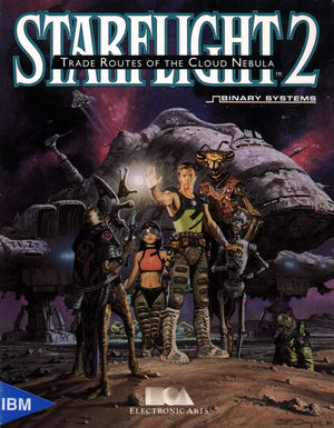 Cover for Starflight 2: Trade Routes of the Cloud Nebula.
