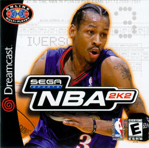 Cover for NBA 2K2.
