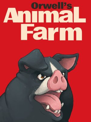 Cover for Orwell's Animal Farm.