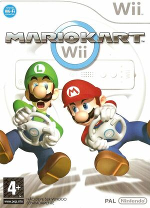 Cover for Mario Kart Wii.