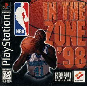 Cover for NBA In The Zone '98.