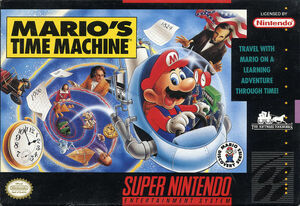 Cover for Mario's Time Machine.