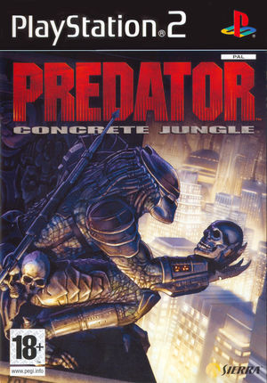 Cover for Predator: Concrete Jungle.
