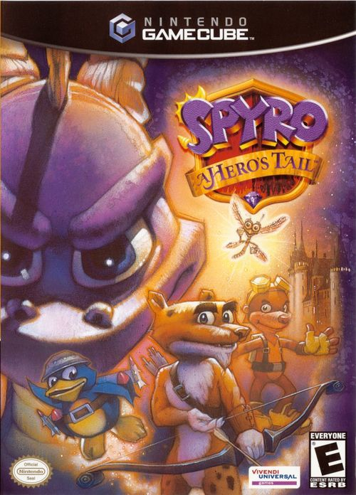 Cover for Spyro: A Hero's Tail.
