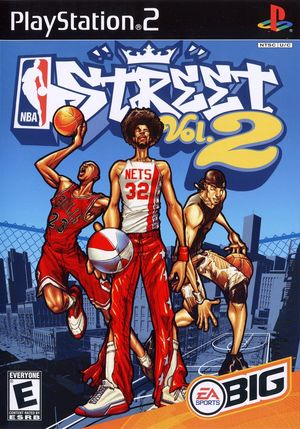 Cover for NBA Street Vol. 2.