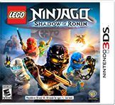 Cover for Lego Ninjago: Shadow of Ronin.