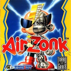 Cover for Air Zonk.