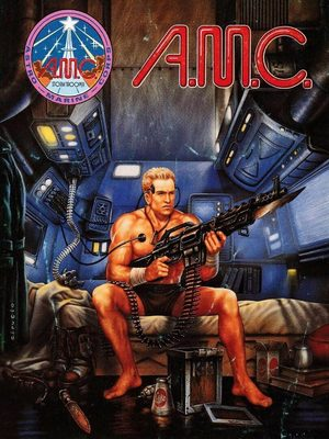 Cover for A.M.C.: Astro Marine Corps.