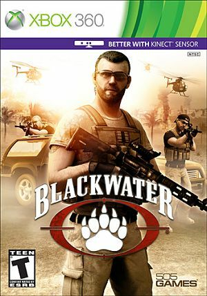 Cover for Blackwater.