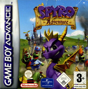 Cover for Spyro: Attack of the Rhynocs.