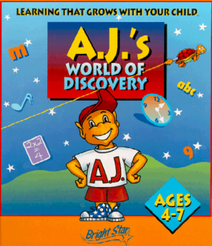 Cover for AJ's World of Discovery.