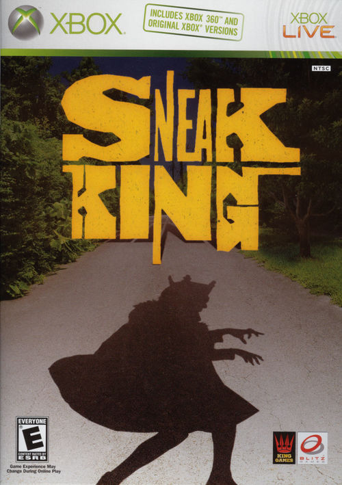 Cover for Sneak King.