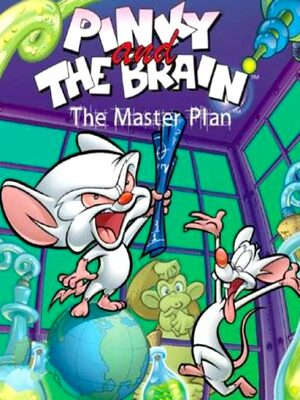 Cover for Pinky and the Brain: The Master Plan.