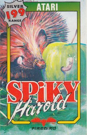 Cover for Spiky Harold.