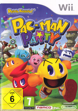 Cover for Pac-Man Party.