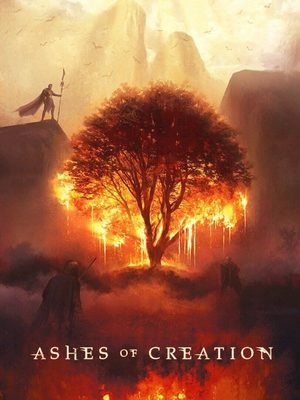 Cover for Ashes of Creation.