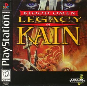 Cover for Blood Omen: Legacy of Kain.