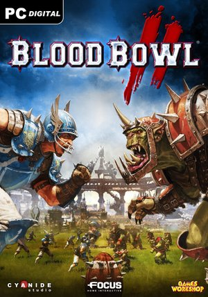 Cover for Blood Bowl 2.