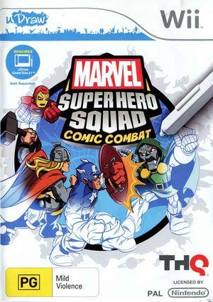 Cover for Marvel Super Hero Squad: Comic Combat.