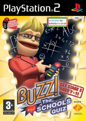 Cover for Buzz!: The Schools Quiz.