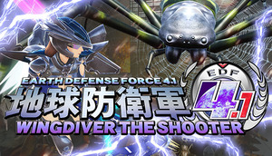 Cover for Earth Defense Force 4.1: Wingdiver The Shooter.