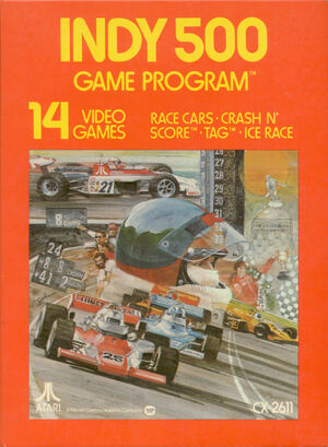 Cover for Indy 500.