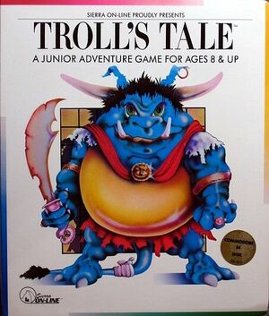 Cover for Troll's Tale.