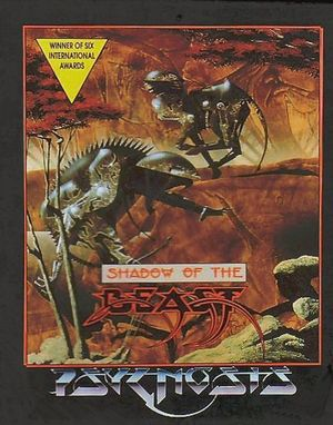 Cover for Shadow of the Beast.