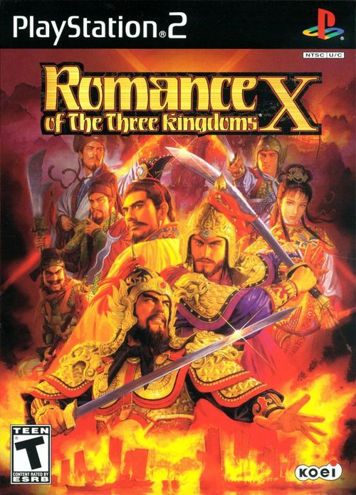 Cover for Romance of the Three Kingdoms X.